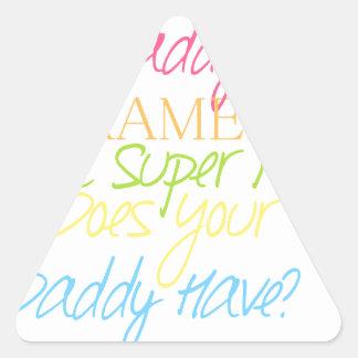 Adesivo Triangular paramédico do miúdo