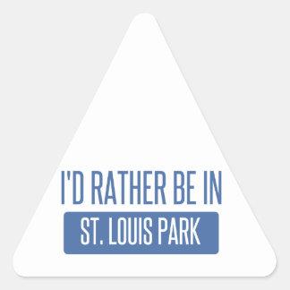 Adesivo Triangular Parque de St Louis