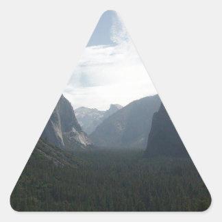 Adesivo Triangular Parque nacional de Yosemite