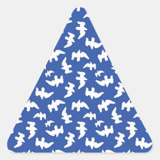 Adesivo Triangular Pássaros que tiram o design do teste padrão
