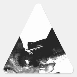 Adesivo Triangular pianista