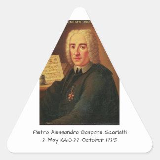 Adesivo Triangular Pietro Alessandro Gaspare Scarlatti