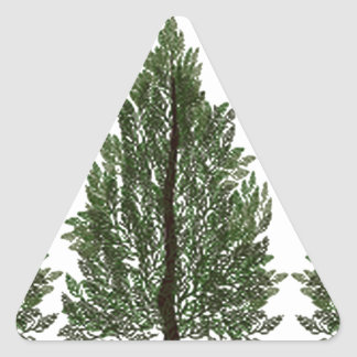 Adesivo Triangular Pinhos do Tripple