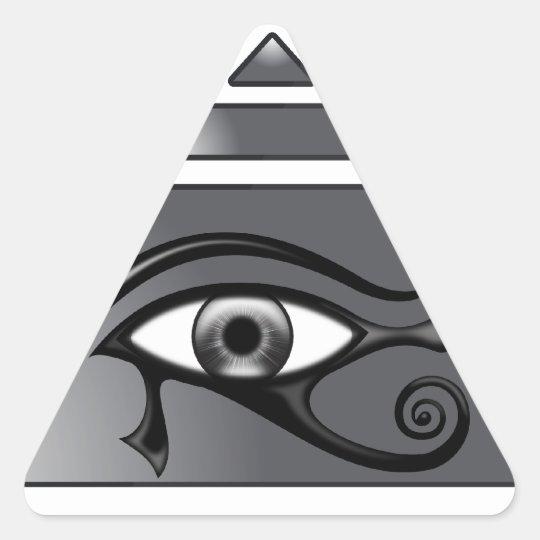 Adesivo Triangular Piramide Horus
