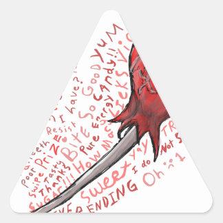 Adesivo Triangular Pirulito