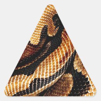 Adesivo Triangular Pitão da bola