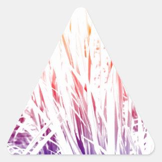 Adesivo Triangular Planta de arroz