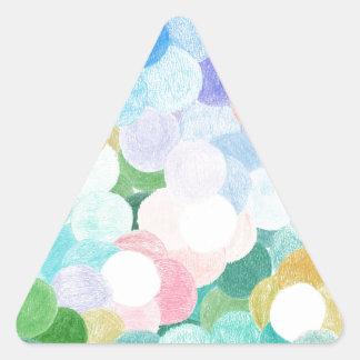 Adesivo Triangular Playfully pitoresco