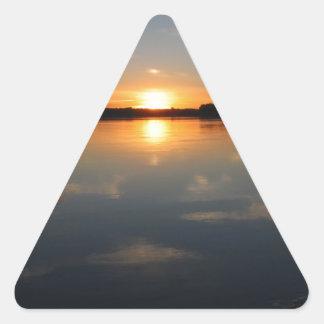 Adesivo Triangular Por do sol de Missouri