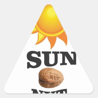 Adesivo Triangular porca do sol yeah