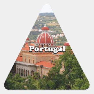 Adesivo Triangular Portugal: Palácio de Monserrate, perto de Sintra