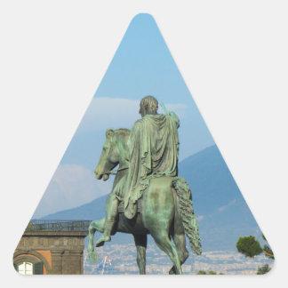 Adesivo Triangular Praça del Plebiscito, Nápoles