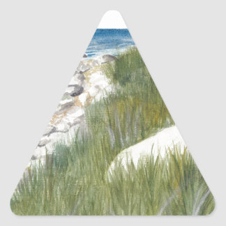 Adesivo Triangular Praia de Rügen