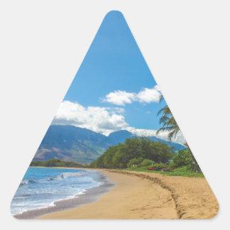 Adesivo Triangular Praia em Havaí