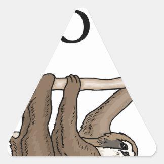 Adesivo Triangular preguiça mais rápida