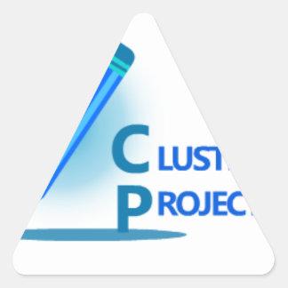 Adesivo Triangular Projetos do conjunto