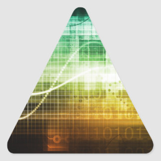 Adesivo Triangular Protecção de dados e exploração da segurança do