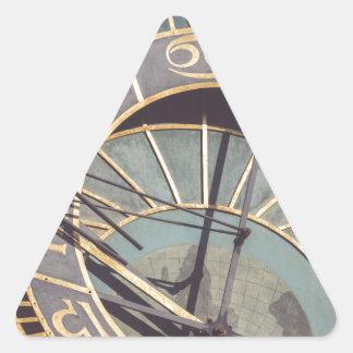 Adesivo Triangular Pulso de disparo astronômico de Praga