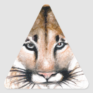 Adesivo Triangular puma