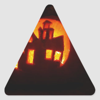 Adesivo Triangular Pumpkin_craft_for_Halloween