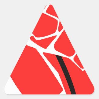Adesivo Triangular Punho líquido da neutralidade