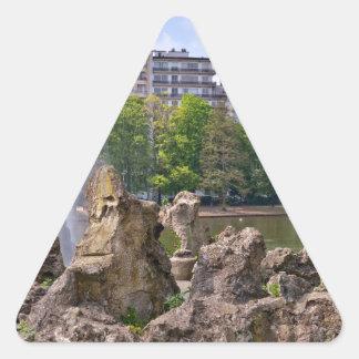 Adesivo Triangular Quadrado de Marie-Louise em Bruxelas, Bélgica