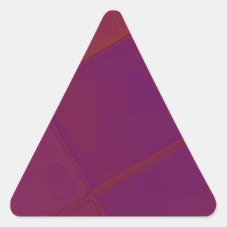 Adesivo Triangular QUADRADO espelhado recreado por Robert S. Lee