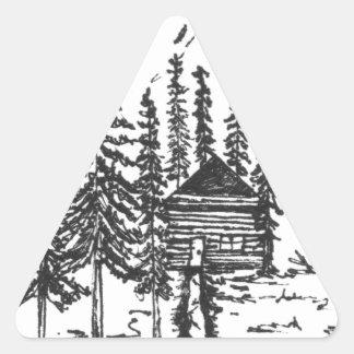 Adesivo Triangular Quando você precisar um bocado da casa