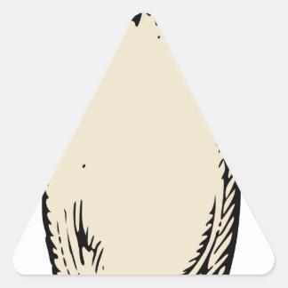 Adesivo Triangular Rabanete