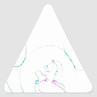 Adesivo Triangular Rede de um Sengaku knotty
