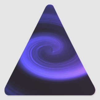 Adesivo Triangular Redemoinho abstrato