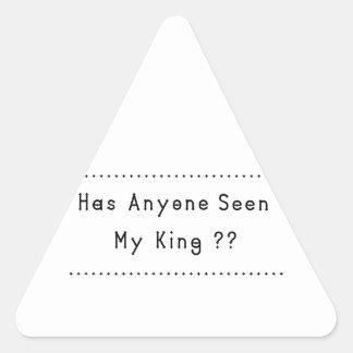 Adesivo Triangular Rei