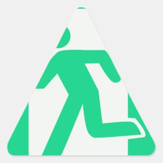 Adesivo Triangular Retire o sinal