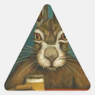 Adesivo Triangular Saltos do coelho