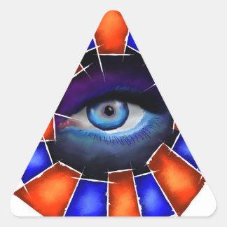 Adesivo Triangular Salvenitus - olho de observação