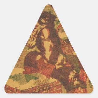 Adesivo Triangular Santa_Claus_Cover_Art