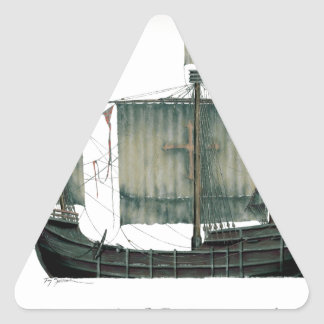 Adesivo Triangular Santa Maria 1492 por Tony Fernandes