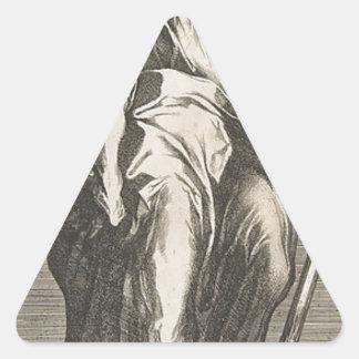 Adesivo Triangular Santo Jude (ou santo Matthias)