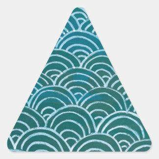 Adesivo Triangular Scallop