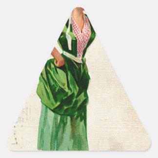 Adesivo Triangular Senhora original do dia de patrick de santo no