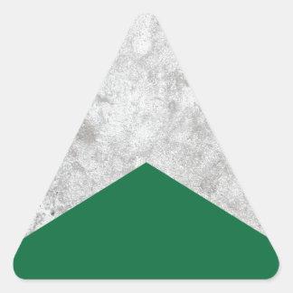 Adesivo Triangular Seta concreta Forest Green #326
