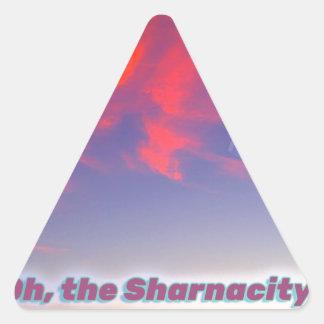 Adesivo Triangular Sharnacity