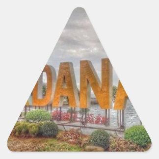 Adesivo Triangular Siglakdanao na cidade do danao