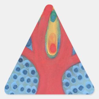 Adesivo Triangular Simbiose