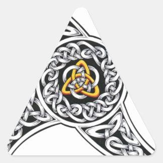 Adesivo Triangular símbolo dos céltico-guerreiros