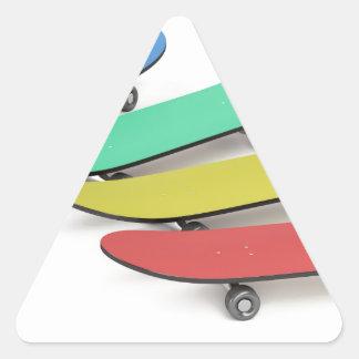Adesivo Triangular Skates
