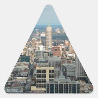 Adesivo Triangular Skyline de Atlanta