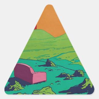 Adesivo Triangular sofá