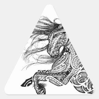 Adesivo Triangular Solofanua