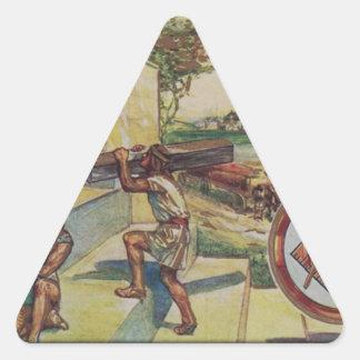 Adesivo Triangular solomontemplemason